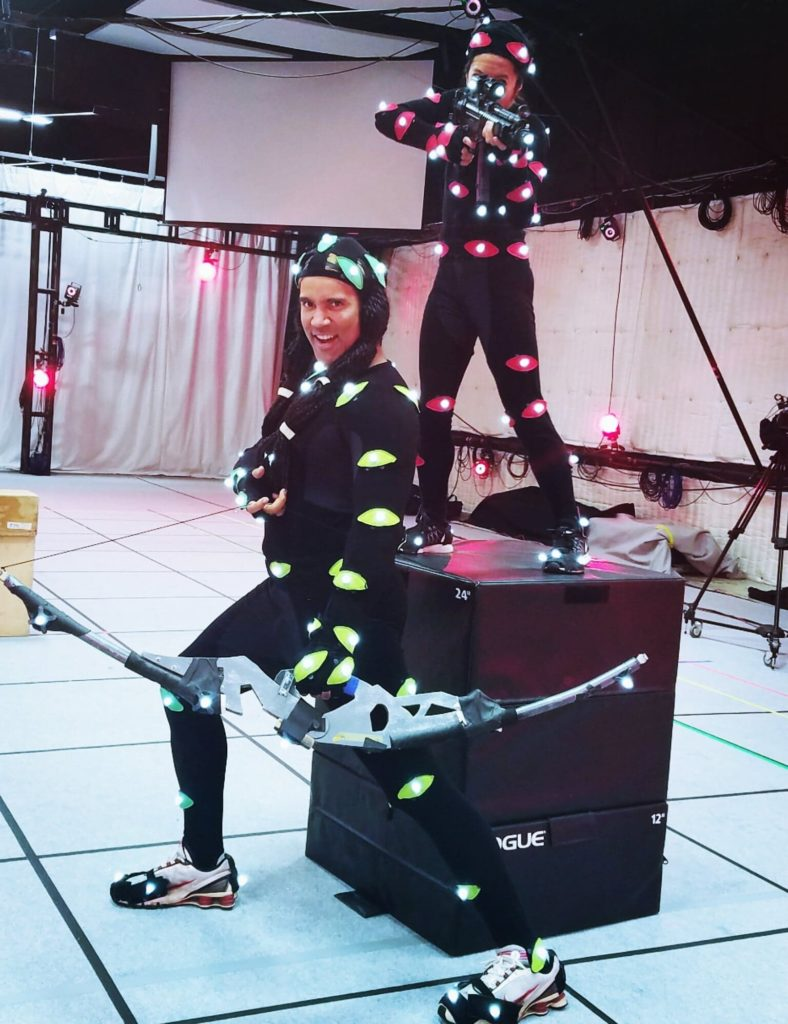 TJ Storm Motion Capture Action