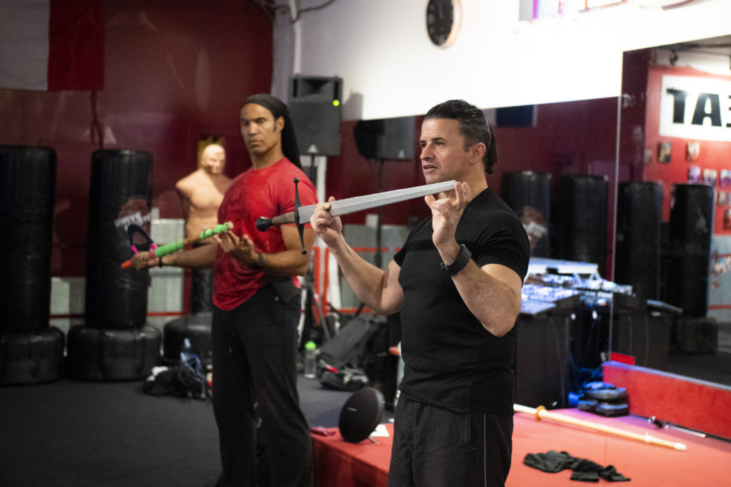 Terence Rotolo and TJ Storm Swords Class